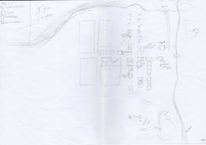 Layout of Town 2